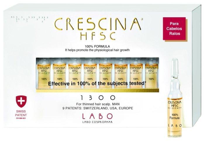 Лосьойн-концентрат для возобновления роста волос у женщин в ампулах Кресцина Crescina HFSC Re-Growth Anti-Hair