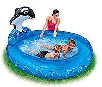 Детский надувной бассейн  – «Дельфин»