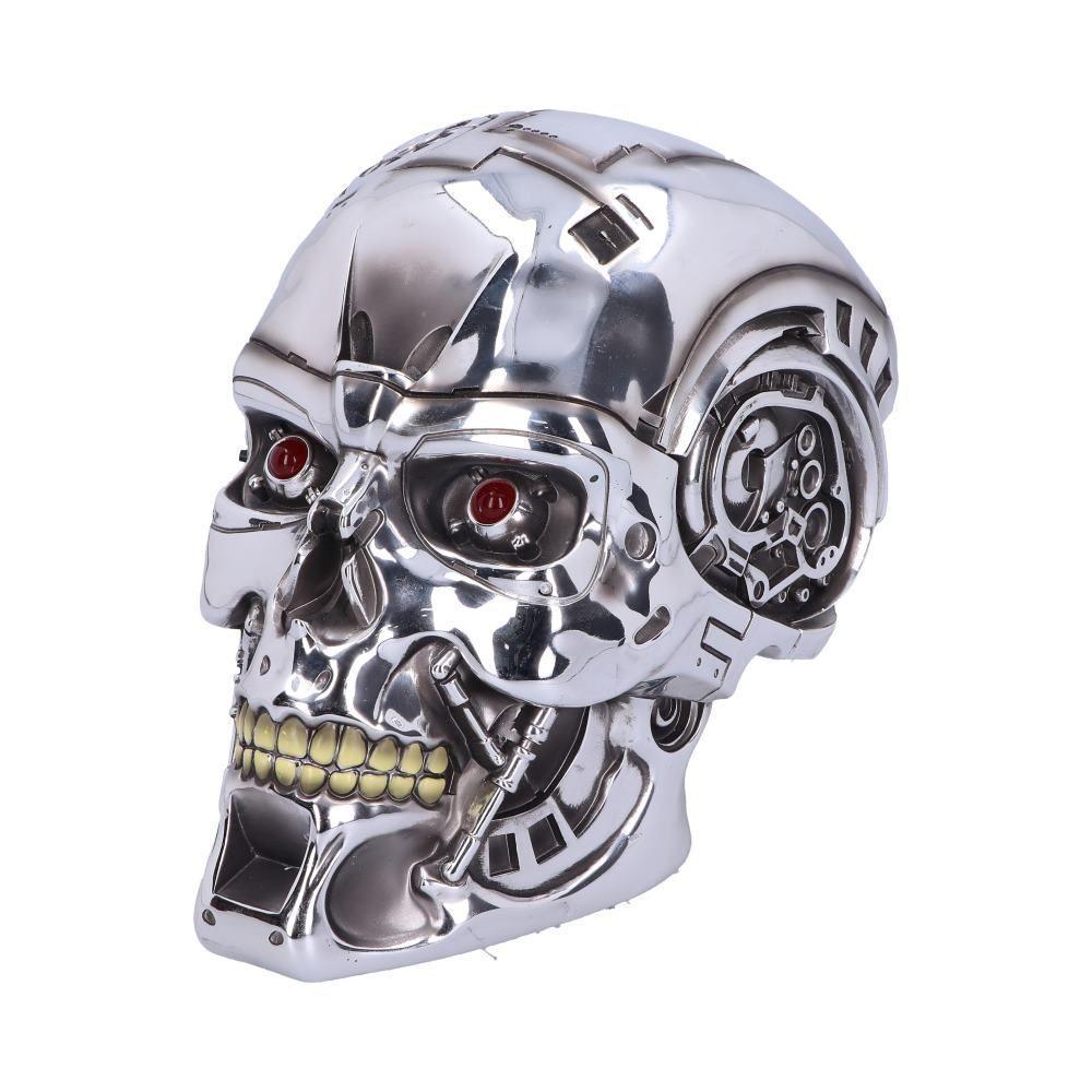 Череп Тайник T-800 Terminator(Nemesis Now) 23 см