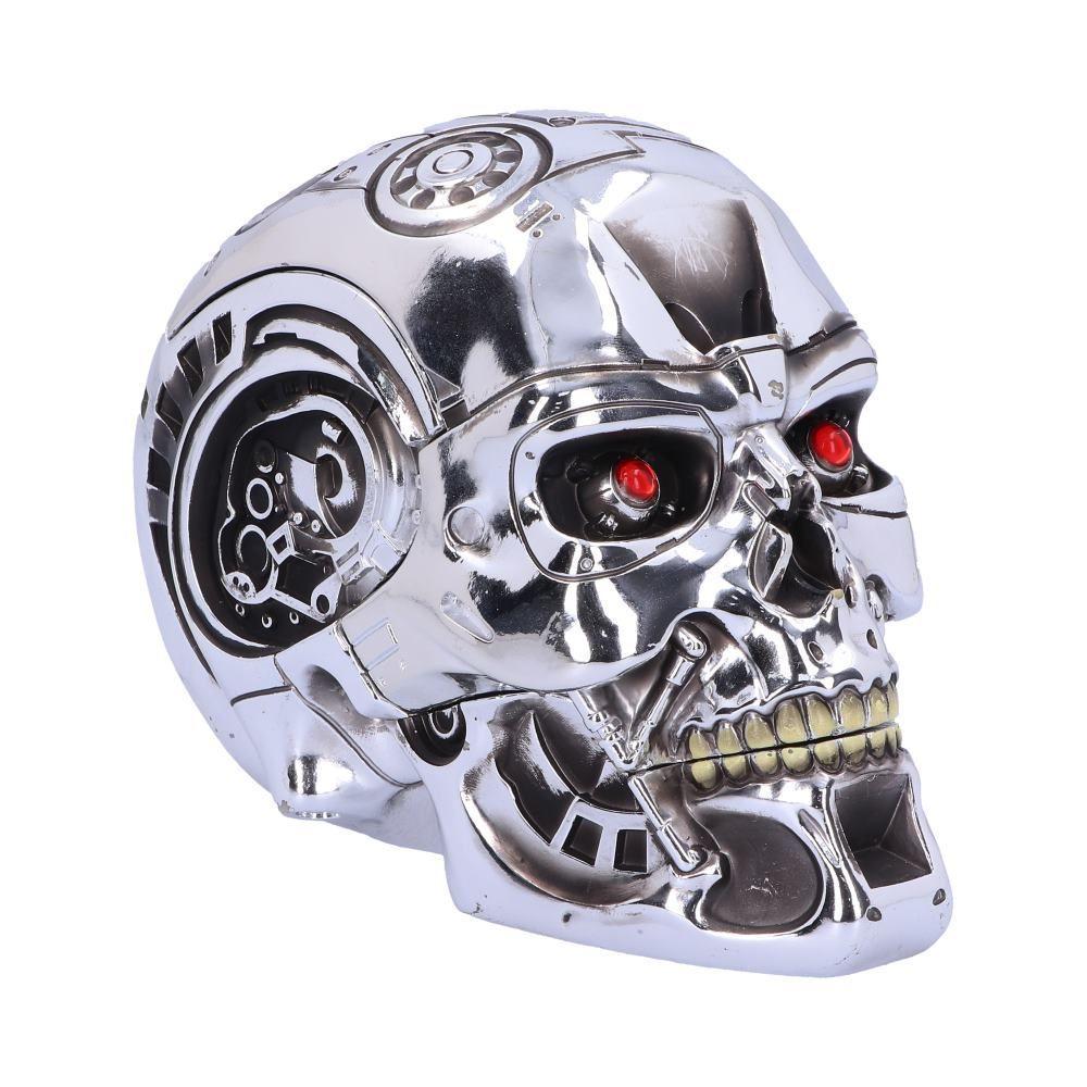 Череп Скринька T-800 Terminator 18cm(Nemesis Now)
