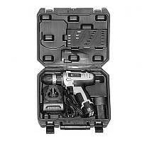 Шуруповерт аккумуляторный Элпром ЭДА-12-2 Li, 12 В, 1.5 А/ч, 400-1200 об/мин, 2 аккум., 2 скорости,