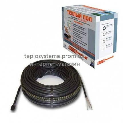 Тонкий двухжильный кабель Hemstedt DR 8,0 м2 1200 Вт, Германия, фото 2