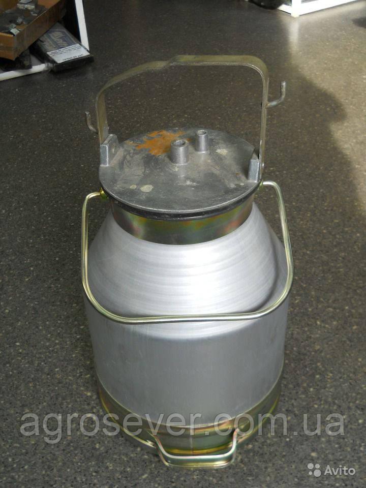 Доильное ведро с крышкой  для доильного аппарата АИД, УИД