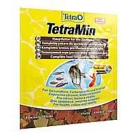 Сухой корм для аквариумных рыб Tetra в хлопьях «TetraMin» 12 г (для всех аквариумных рыб)