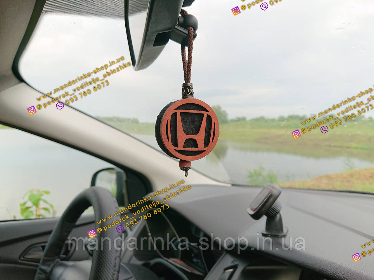 Подвеска ароматизатор Honda, Парфюм Хонда на зеркало