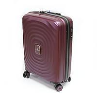 Пластиковый чемодан малого размера Snowball 05203 цвет сливы, фото 1
