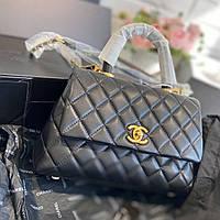 сумочка Шанель натуральна шкіра (репліка), фото 1