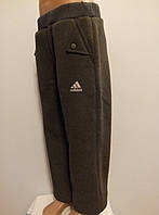 Детские зимние спортивные штаны кнопка трехнитка 122 - 146