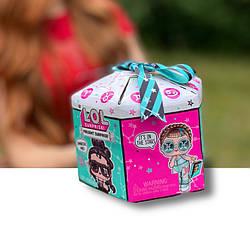 Кукла ЛОЛ Подарок Знаки Зодиака Оригинал LOL Surprise Present Surprise Series 2 Glitter Shimmer (572824EUC)