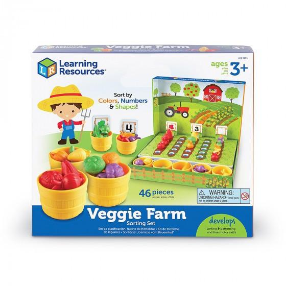 Навчальний Ігровий Набір-Сортер Learning Resources - Розумний Фермер LER5553