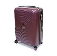 Середня валіза з поліпропілену на 68 л Snowball Robust 05203 колір сливи, фото 1