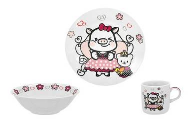 Детский набор столовой посуды Limited Edition Sweety из 3 предметов (C535)