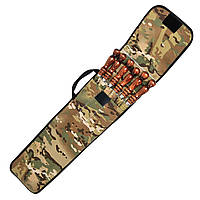 Набор шампуров ПикничОК с деревянной ручкой 6 шт плоский 700х10х3.0мм, фото 1