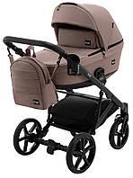 Дитяча коляска 2 в 1 Bair Kiwi Soft BKS-857 темний капучіно