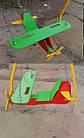 """Гойдалки дитячі на ланцюгах """"Літак""""., фото 3"""