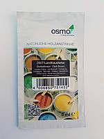 Непрозрачная краска для наружных работ OSMO LANDHAUSFARBE 2607 темно-коричневая, фото 3