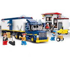 Игровой конструктор грузовик автовоз Sluban  прёмка товаров
