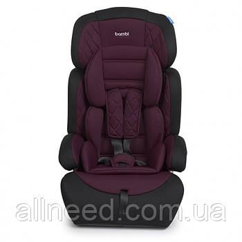 Автокресло детское 2в1 M 3546 регулируется подголовник  9-36 кг  (Фиолетовый)