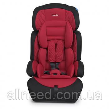 Автокресло детское 2в1 M 3546 регулируется подголовник  9-36 кг  (Красный)