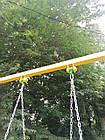 """Гойдалки дитячі на ланцюгах """"Літак""""., фото 4"""