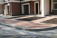 Бордюр дорожный (серый) 150мм, фото 1