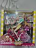 Кукла с велосипедом 8689