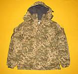 Зимняя куртка пиксель ВСУ. Очень качественная ткань ВО-ММ-14, фото 2