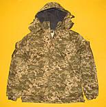 Зимняя куртка пиксель ВСУ. Очень качественная ткань ВО-ММ-14, фото 3