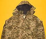Зимняя куртка пиксель ВСУ. Очень качественная ткань ВО-ММ-14, фото 4