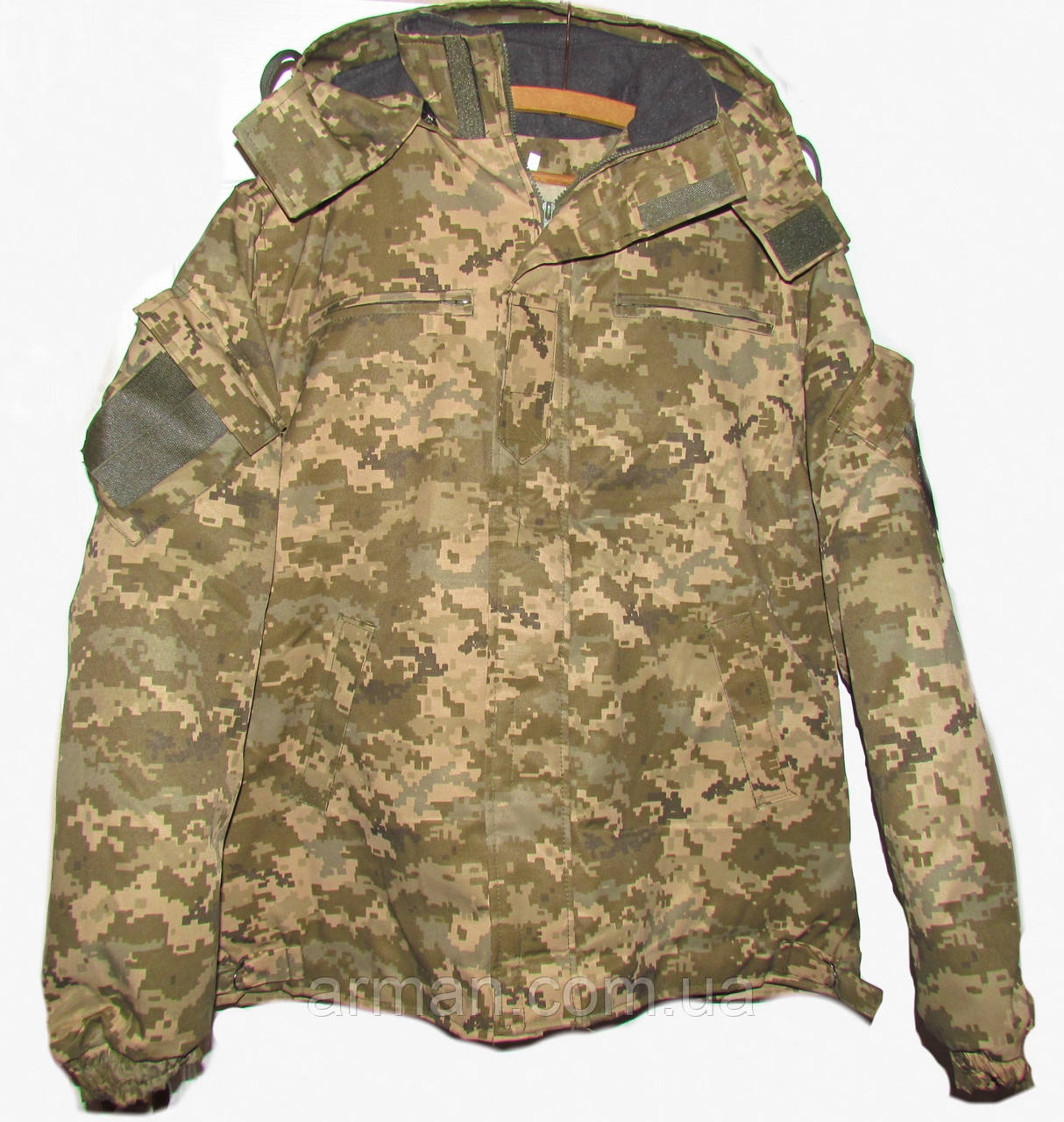 Зимняя куртка пиксель ВСУ. Очень качественная ткань ВО-ММ-14