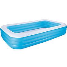 Детский надувной бассейн Bestway 54009 «Семейный», 305 х 183 х 56 см (hub_rbq4f1)