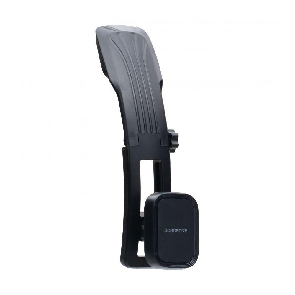Автомобильный держатель Borofone BH17 магнитная фиксация телефона Чёрный