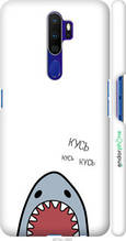 "Чохол на Oppo A9 2020 Акула ""4870c-1865-2448"""