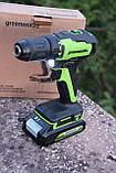 Безщітковий дриль-шуруповерт акумуляторний Greenworks GD24DD35 без АКБ і ЗП, фото 4
