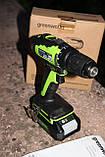 Безщітковий дриль-шуруповерт акумуляторний Greenworks GD24DD35 без АКБ і ЗП, фото 3