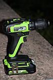 Безщітковий дриль-шуруповерт акумуляторний Greenworks GD24DD35 без АКБ і ЗП, фото 2