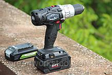 Дрель-шуруповерт ударная аккумуляторная Powerworks P24CDK4 / Greenworks G24CDK4 с АКБ 4 Ач и ЗУ