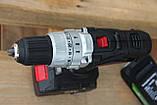 Дриль-шуруповерт ударний акумуляторний Powerworks P24CDK4 / Greenworks G24CDK4 з АКБ 4 Ач і ЗУ, фото 5