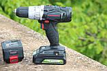 Дрель-шуруповерт ударная аккумуляторная Powerworks P24CDK4 / Greenworks G24CDK4 с АКБ 4 Ач и ЗУ, фото 3