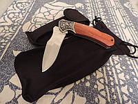 """Нож складной - охотничий / туристический """"Медведь"""". Булатная сталь. Палисандровая рукоятка., фото 1"""
