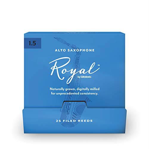 Тростини для альт саксофона d'addario RJB0115-B25 Royal by d'addario - Alto Sax #1.5 - 25 Box