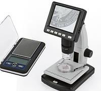 Вимірювальні прилади, мікроскопи, лупи та