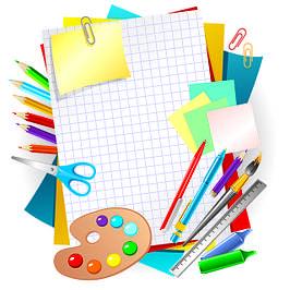 Канцелярские товары для дома, школы, офиса