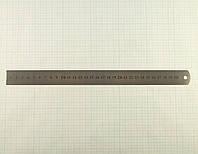 Линейка измерительная металлическая 30 см