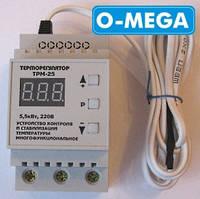 Терморегулятор цифровой ТРМ-25 для инкубатора (-55...+125) с термозащитой, фото 1