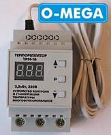 Терморегулятор цифровой ТРМ-16 для инкубатора (-55...+125) с термозащитой, фото 1