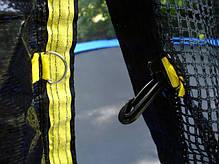 Купить батут 312 см. с сеткой и лесенкой, фото 3