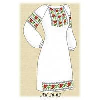 Бисерная заготовка женского платья