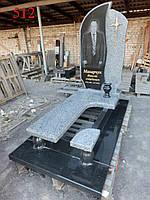 Памятник из покостовского гранита, фото 1