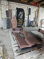 Памятник из гранита симоновский и базальт